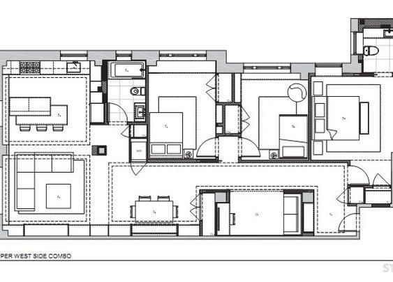 Upper West Side Combo Design by STUDIOLAB