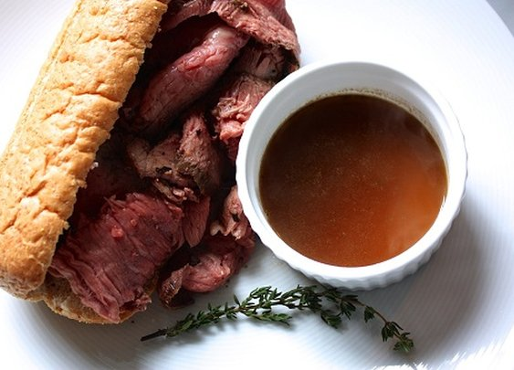#13 How to Make a Homemade Roast Beef Au Jus Sandwich | The Art of Manliness