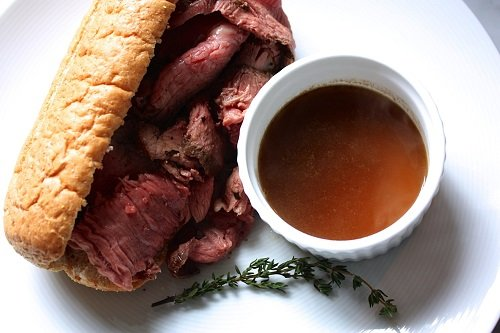 How to Make a Homemade Roast Beef Au Jus Sandwich | The Art of Manliness