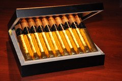 Bourbon Infused & Gold Hand-Rolled Cigars