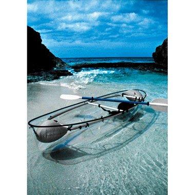 The Transparent Canoe Kayak - Hammacher Schlemmer
