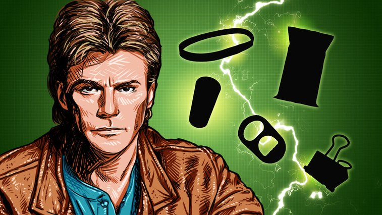 Top 10 Awesome MacGyver Tricks That Speak For Themselves