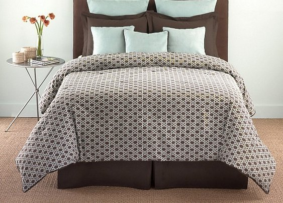 Comforter Set 8pc Southern Textiles Lattice Cal King Bedding Bed Design