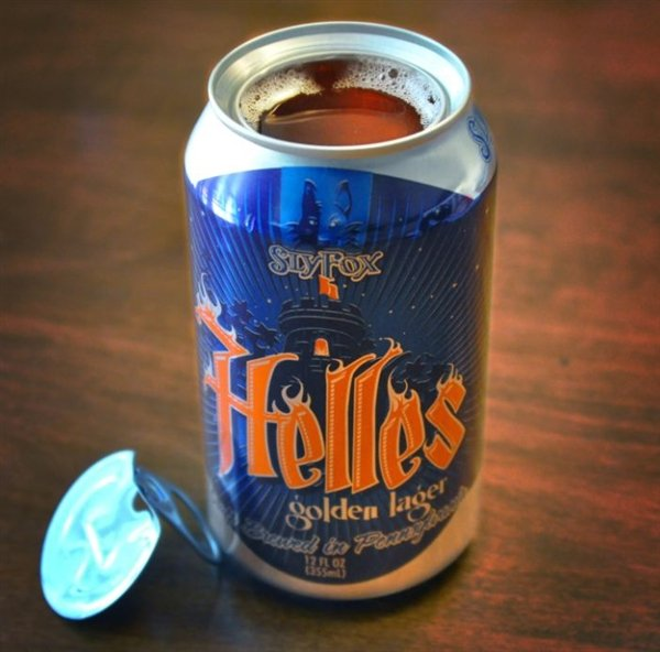 Topless beer cans