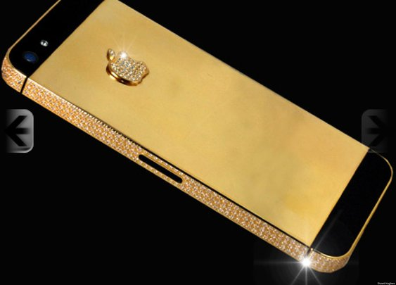 World's Most Expensive iPhone 5: Stuart Hughes Sells Speciality Black Diamond Phone For $15.3 Million