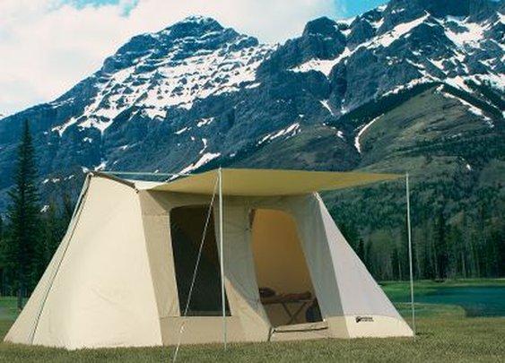 Cabela's: Kodiak® Canvas Flex Bow Tent – 10' x 14'