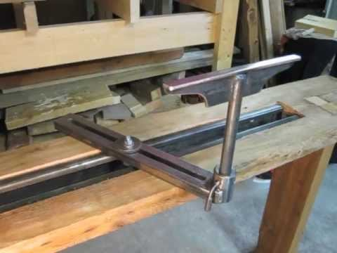 The Foot Powered (Treadle) Lathe - YouTube