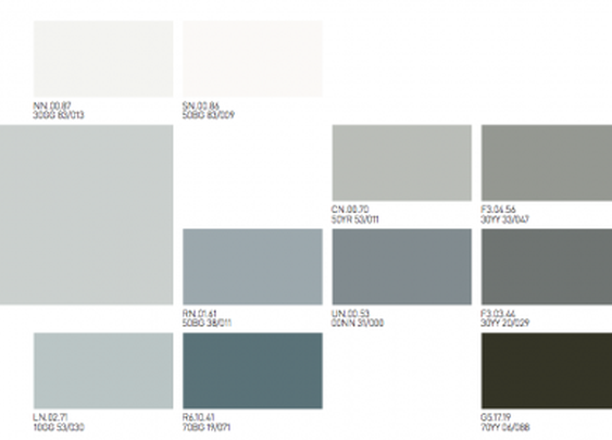2012 Color Trends by Akzo Nobel