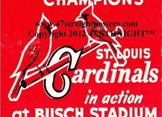 St. Louis Cardinals gifts, St. Louis Cardinals Father's Day Gifts. St. Louis Cardinals art.