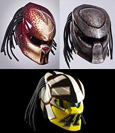 The Predator motorcycle helmet!