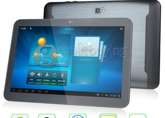 Pipo Max M9 10.1 inch Android 4.1 Quad Core Tablet PC RK3188 IPS 1280*800 2GB RAM 16GB - GeekBuying.com
