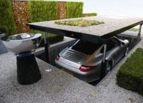 Dream Garage. Burgler proof.