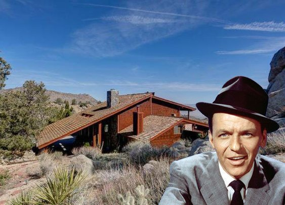 Frank Sinatra's Old 'Villa Maggio' Party Pad Hits the Market