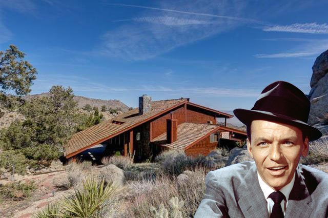 Frank Sinatra's Old 'Villa Maggio' Party Pad Hits the Market