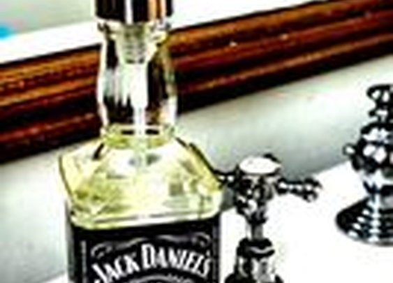 Jack Daniel's Soap Dispenser - Manly Cleansing