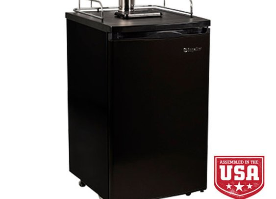 EdgeStar Full Size Dual Tap Kegerator & Draft Beer Dispenser - KC2000TWIN