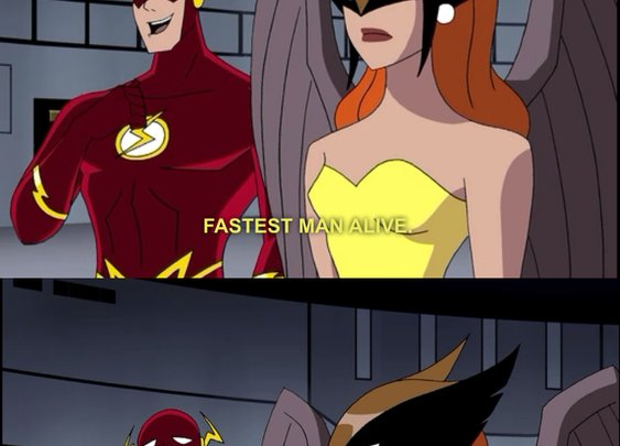 The Flash is not good at dating...