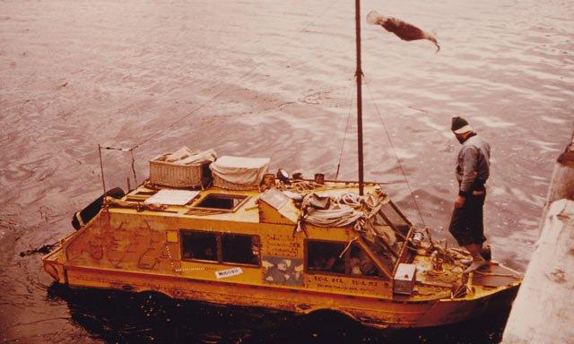 A Madman, an Amphibious Jeep, and a Trip Around the World - Popular Mechanics