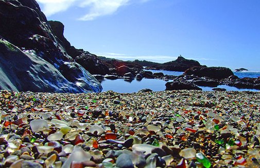 Glass Beach - The Dump You'll Want to Visit - Unfinished Man