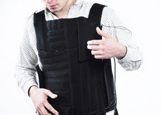 Drop The Beat builds a reconfigurable electronic drum kit into a vest