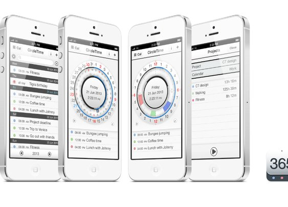 CircleTime - new round perpetual calendar for iPhone