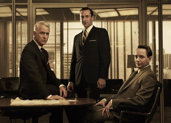 Debonair Men's Fashion Looks Based Upon Popular Television