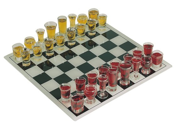 Shot Glass Chess Set - buy at Firebox.com