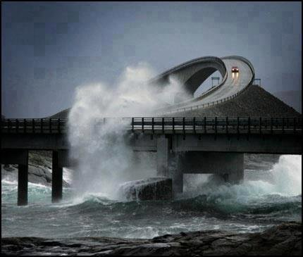 The Atlantic Road in Norway