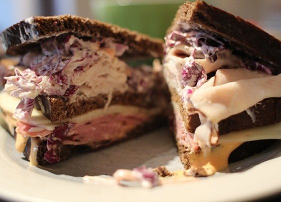 #11 The Colonels Favortie - How to Make a Double-Decker Reuben with Coleslaw | The Art of Manliness