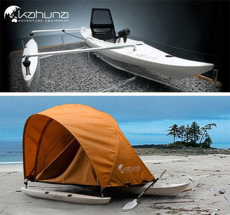 12 Strange and Creative Camping Tents