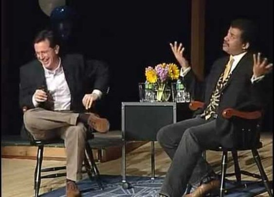 Stephen Colbert and Neil deGrasse Tyson in an Awesome Interview - StumbleUpon