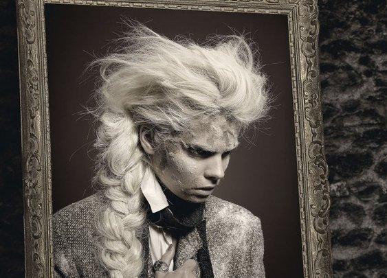 Gothic art fashion-Fashion Portrait of Dorian Gray