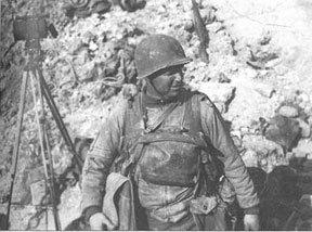 Lieutenant Colonel James Earl Rudder, US Army Rangers