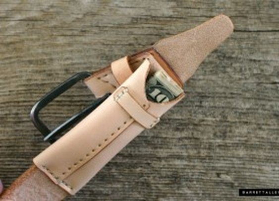 Secret Stash Smuggler's Belt