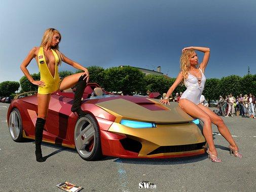 Iron Man Sports Car