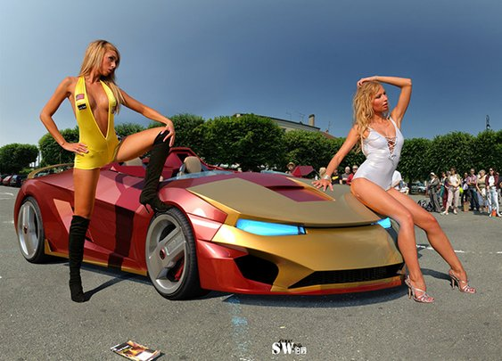 Iron Man Sports Car