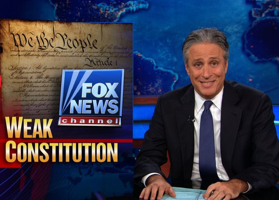 Weak Constitution - (Clip of the Daily Show)