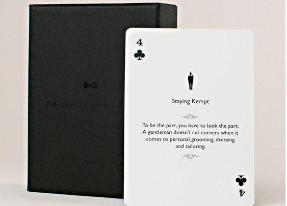 Gentleman's Deck Cards | That Should Be Mine