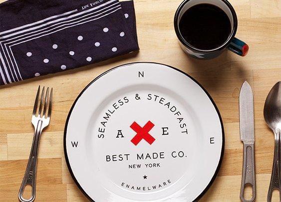 Best Made Steadfast Enamel Steel Plates   That Should Be Mine