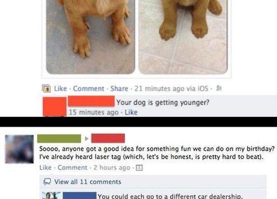 Best of Funny Facebook statuses