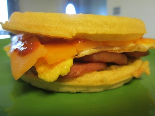 AoM Month of Sandwiches Day #19: Spam & Egg Breakfast Special | The Art of Manliness