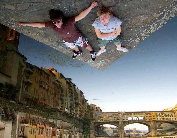 Forced Perspective Photography via Smashinghub