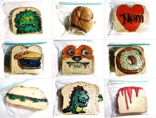 Huckberry | Sandwich Art