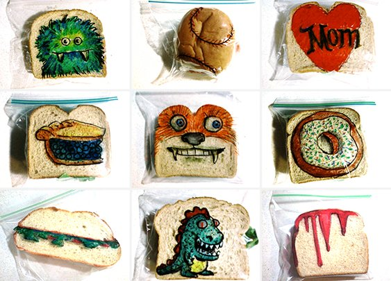 Huckberry | Sandwich Art