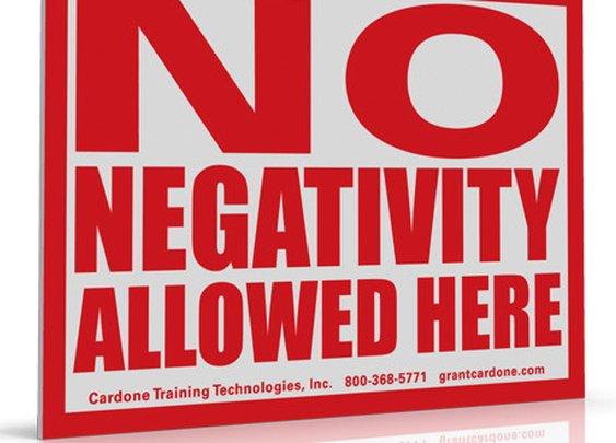 No Negativity Allowed Here | Remy Sheppard