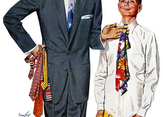 The Basics: How to Tie a Tie