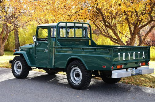 Dream Machine: 1978 Toyota Land Cruiser FJ45 | Bring a Trailer