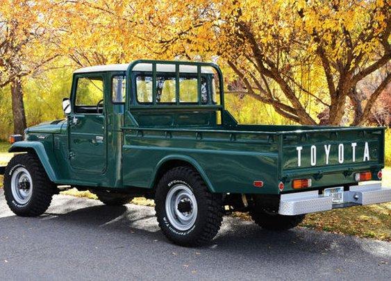 Dream Machine: 1978 Toyota Land Cruiser FJ45 | Bring a Trailer