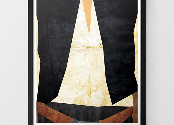 Minimalist Star Wars-Themed Art Prints