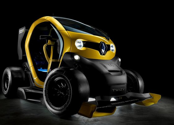 Renault Twizy Sport F1 Concept | Uncrate